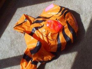 tigre desinflado