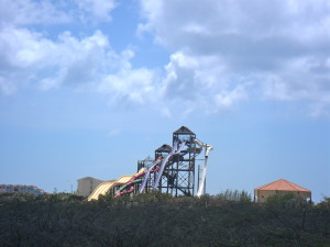 Acuaparque abandonado, Aruba.
