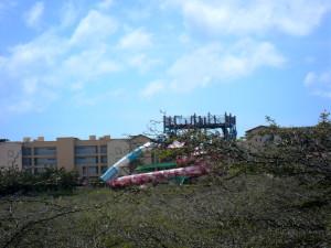 acuaparque abandonado, Aruba